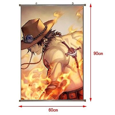 One Piece D.Ace in 2 jahren Anime Manga Wallscroll Stoffposter 60x90cm Neu