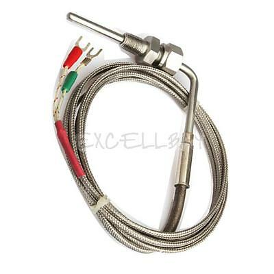 2M EGT K Type Thermocouple Exhaust Probe High Temperature Sensors Threads New