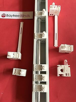 """3.5"""" Or 5""""  Replacement Vertical Blind Track Carriers Spares Parts Repairs"""