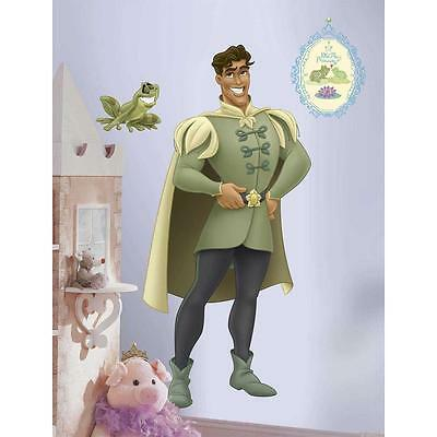 New Giant PRINCE NAVEEN WALL DECALS Princess and the Frog Stickers Girls Decor