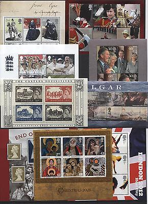 1978 - 2007 MINT MNH Mini / Miniature Sheets & Years Sets - UPDATED YEAR + SETS