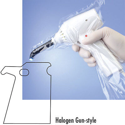 Dental Curing Light Cover Sleeves for Gun Halogen 250 pcs #PS-4660 Sleeves only