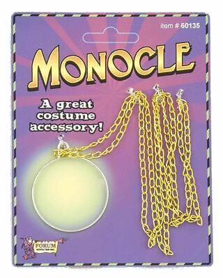 Deluxe Monocle Aristocrat Professor Mr. Peanut Costume Eye Glass Monopoly Guy