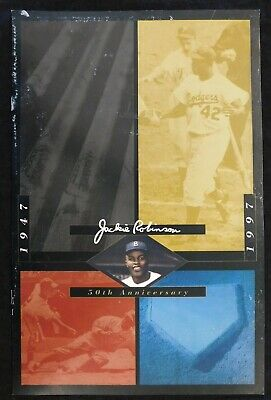 1997 Jackie Robinson 50th Anniversary Program Los Angeles Dodgers MLB Baseball