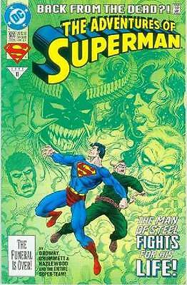 Adventures of Superman # 500 (68 pages) (USA, 1993)