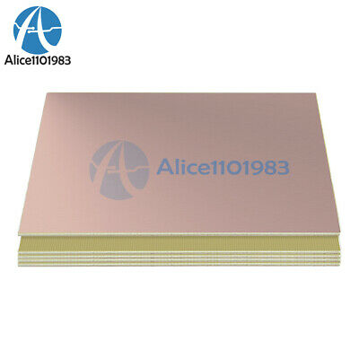 10*15cm 10cmx15cm Single PCB Copper Clad Laminate Board FR4