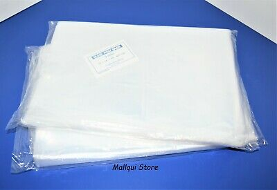 200 CLEAR 10 x 14 POLY BAGS PLASTIC LAY FLAT OPEN TOP PACKING ULINE BEST 1 MIL
