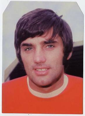 Scarce Trade Card of George Best, Football 1997