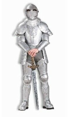 Mens Adult Deluxe Knight in SHINING ARMOR Costume