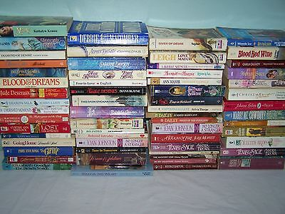 85 Romance Paperback Books Various Authors 1960's to 2000's