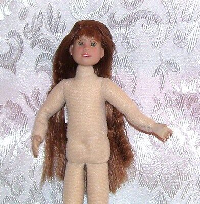 """Only Hearts Club OLIVIA HOPE 9"""" POSABLE DOLL NUDE Cloth and vinyl FOR OOAK"""