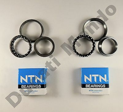 NTN steering head ball bearings for Ducati Monster S4 01-03 S4R 04-08 S4RS 07-08