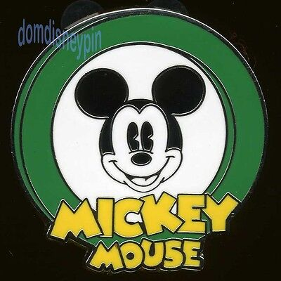 Disney Pin *Oh Mickey!* Mystery Collection - Dark Green (Trademark Smile)!