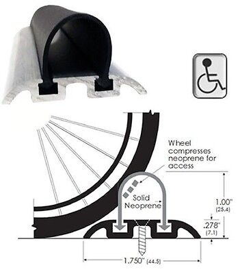 ADA Wheelchair Accessible Shower Threshold - 36 in. long