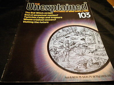 The Unexplained Orbis Issue 103 the bell witch strikes - end of perpetual motion