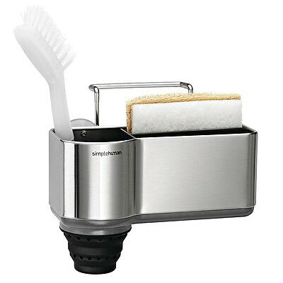 Simplehuman Sink Caddy 5 Year warranty Brushed stainless steel (KT1116)