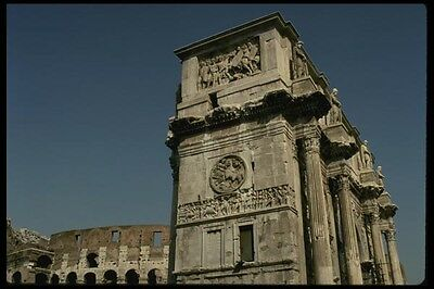 149005 Arch Of Constantine Colosseum A4 Photo Print