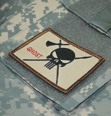AFSOC TACP FORWARD AIR COMBAT CONTROL VELCRO PATCH: Calico Jack Pirate Skull D