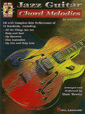 Jazz Guitar Chord Melodies For Solo Guitar Tab Book Cd NEW!