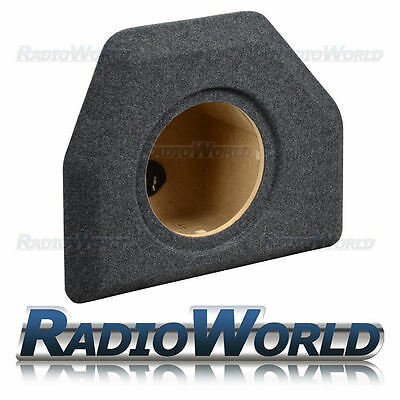 "VW Passat B6 B7 Saloon Custom Fit MDF 10"" Sub Box Subwoofer Enclosure Bass"