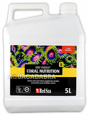 Red Sea Reef Energy B 5L Concentrated Marine Coral 5 Litre Aquarium Fish Tank