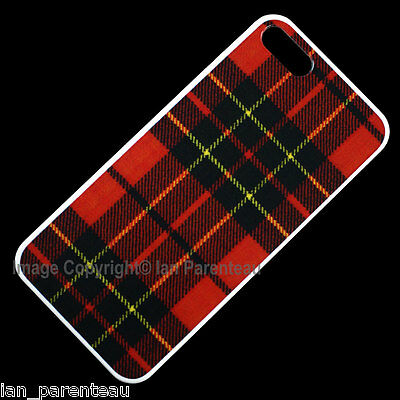 iPhone 5 Red Tartan Plaid Snap On Case