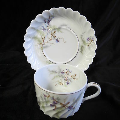 Haviland Orsay France Cup And Saucer Set In Excellent Condition