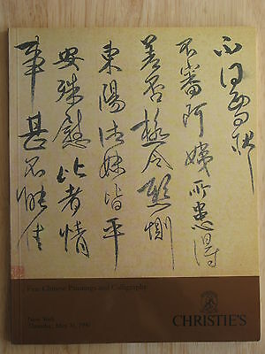Christie's Fine Chinese Paintings and Calligraphy 31 May 1990