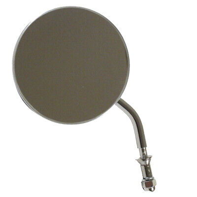 """Stock Style 4"""" Universal Mount Round Mirror for Harley-Davidson Models"""