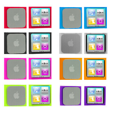 Color Silicone Rubber Gel Soft Skin Case Cover for Apple iPod Nano 6th Gen 6 6G