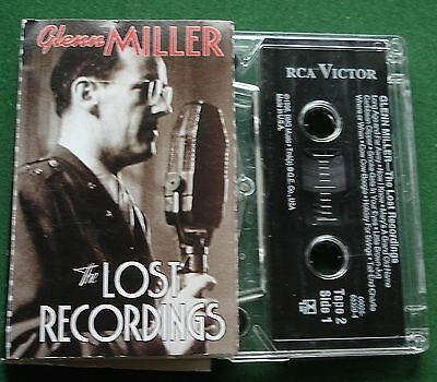 Glenn Miller Lost Recordings Pt 2 Long Ago and Far Away + Cassette Tape - TESTED