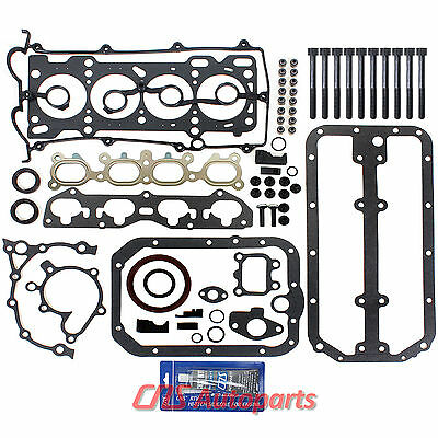 "Full Gasket Set+Bolts+Silicone for 00-03 MAZDA 626 PROTEGE 2.0L DOHC ""FS"""