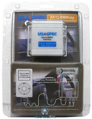 PA12-BMWdsp - USA SPEC IPOD IPHONE ITOUCH TO BMW CAR STEREO INTERFACE NEW