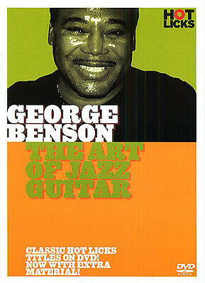 GEORGE BENSON ART OF JAZZ GUITAR DVD; Benson, George, Default setting - HOT100