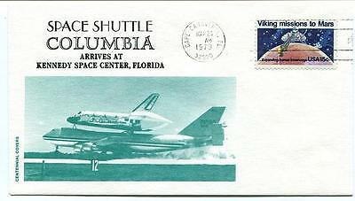 1979 Space Shuttle COLUMBIA arrived at Kennedy Space Center Cape Canaveral NASA