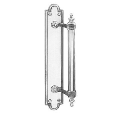 Delf Door Pull 2862C 235mm Offset On Plate Polished Chrome