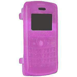 Amzer Purple Soft Silicone Skin Jelly Case Cover For LG enV3 VX9200