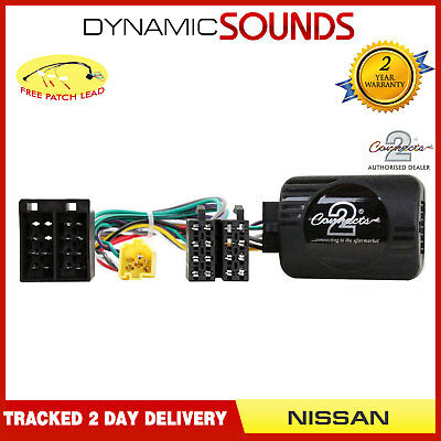 CTSNS006.2 Stalk Control Adaptor Phone Button Support for NISSAN Primastar