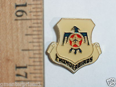 Thunderbirds Emblem Vintage Lapel Pin