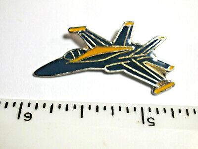 F/A-18 Hornet Jet Military Vintage Aircraft Pin  ,(Nicer than Picture)  (**)