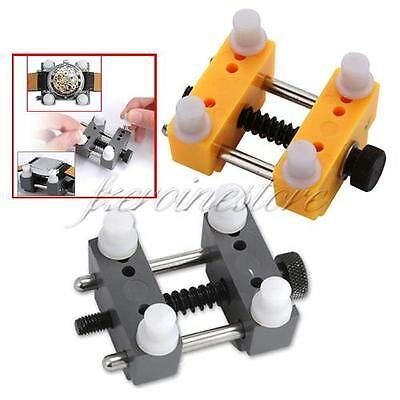 Adjustable Watch Case Holder Watchmaker Vice Tool For Wristwatch Repair Remover
