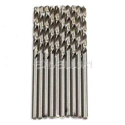 10PCS 2.5mm Micro HSS Twist Drilling Auger bit for Electrical Drill New  E0Xc
