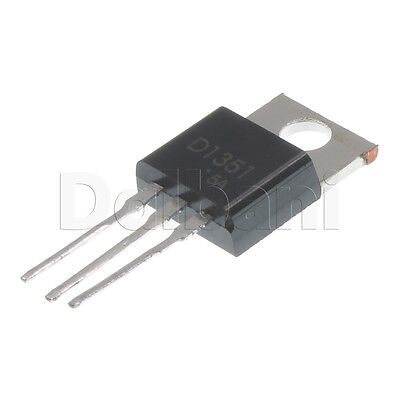 2SD1351 New Replacement Silicon NPN Power Transistor D1351