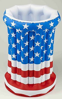 Inflatable Drink Cooler Patriotic 4th Fourth of July American Flag Party Prop
