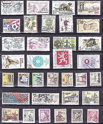 Czechoslovakia Old Stamp Collection Used REF: J408
