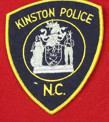 17206- Patch Kinston North Carolina Police Department Sheriff Law Enforcement
