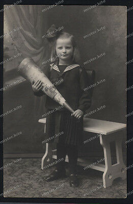 Vintage Photo-First School Day-Erster Schultag-1920/30-Cute Teen Girl-sweet