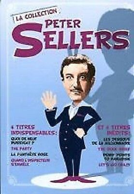 8993//coffret 4 Films 4 Dvd Les Inedits Peter Sellers  Dvd Neuf Sous Blister
