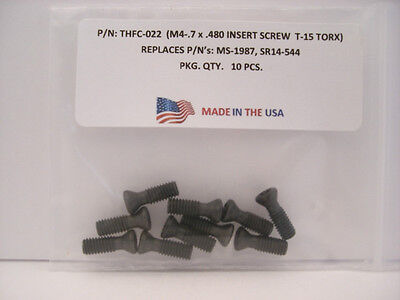 10 Pieces THFC-022 Insert Screw: MS-1987 ... SR14-544