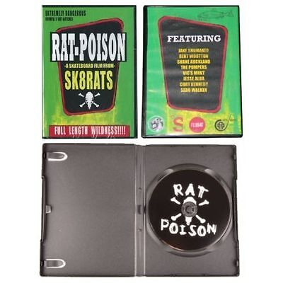 Sk8rats Rat Poison Skateboard DVD BRAND NEW FREE POST 30 DAY RETURN NEW kennedy